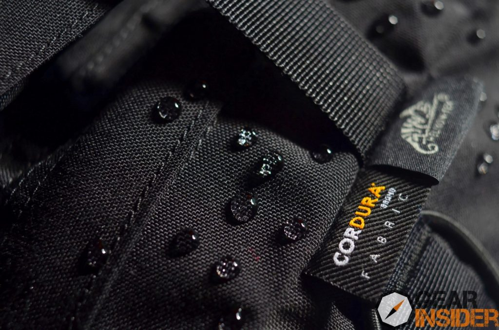 Helikon-Tex Raccoon MKII black Cordura and manufacturer's tags